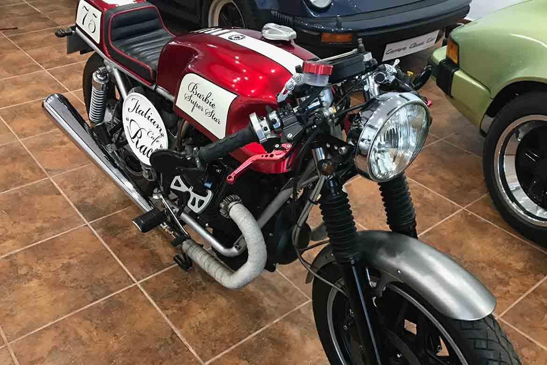 restauracion reparacion de moto clasica antigua de época en Valencia · ARG Restauracion