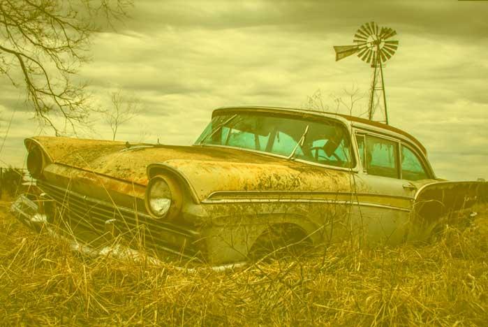 restauracion de coches abandonados en valencia · ARG Restauracion q