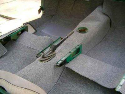 restauracion reparacion de moquetas de coches autos agujeros, color, en valencia · ARG Restauracion
