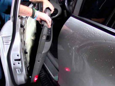 restauracion reparacion de paneles de puertas de coches autos en valencia · ARG Restauracion