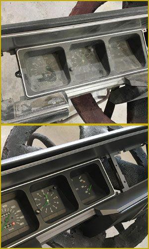 Servicios de Restauracion de salpicaderos de coches clasicos antiguos de epoca en valencia · ARG Restauracion